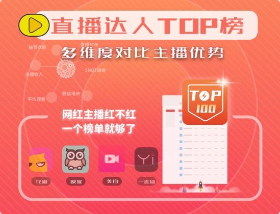 微播易直播达人TOP榜